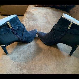 Calvin Klein stiletto heel two toned boot